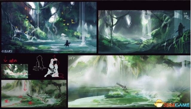 场景好美 《怪物猎人:世界》特集场景原画概念图