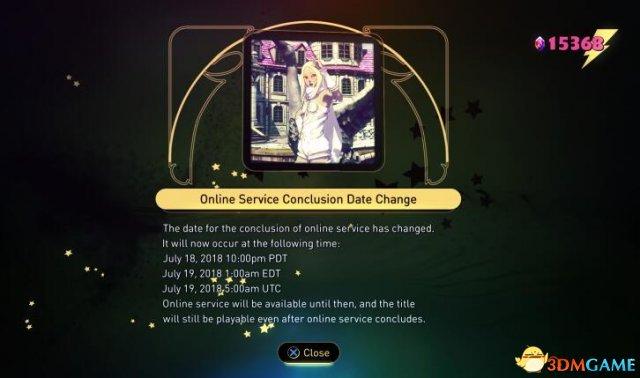 玩家请愿成功 《重力眩晕2》服务器关闭延期半年