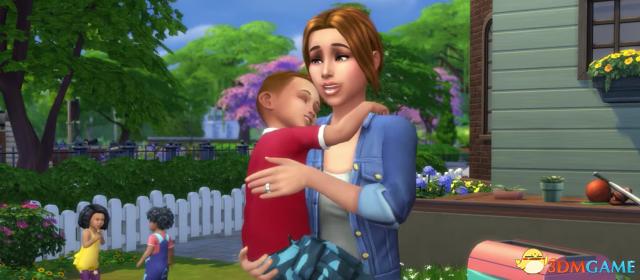 游戏新消息:模拟人生4最新补丁小孩终于能听懂笑话了