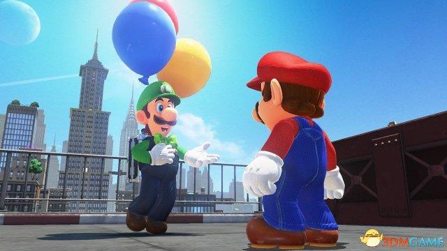 路易吉加入《超級馬利奧:奧德賽》 玩起捉迷藏