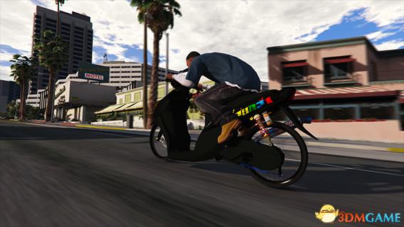 侠盗猎车5 菲律宾版雅马哈MIO踏板摩托车MOD