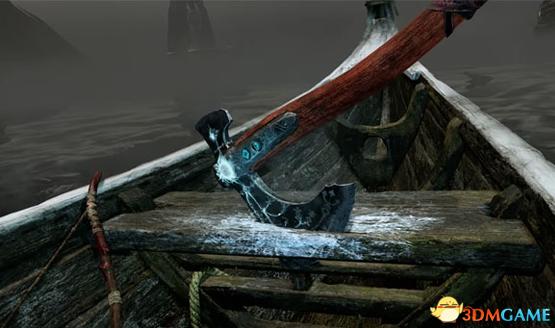 《战神4》的船不是普通的船 四分之一时间在划船