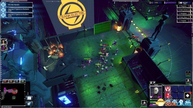 RTS新游《重整旗鼓》截图 2083年赛博朋克风格