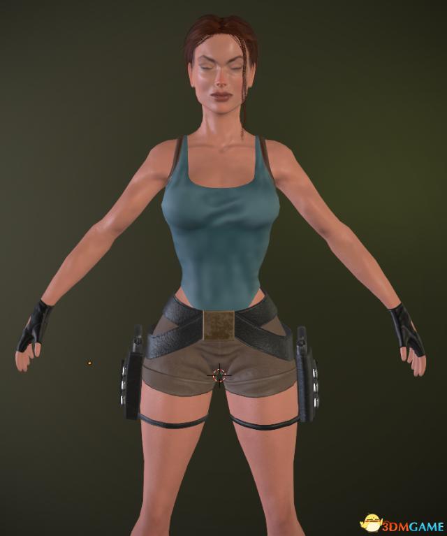 惊艳劳拉 粉丝利用Unity引擎自制 《古墓丽影3》