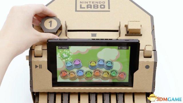 让游戏回归原点!任天堂发布Switch新玩法Labo