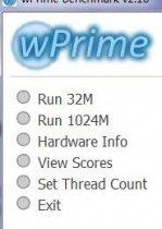 wprime处理器计算测试工具v2.1[附菜单翻译与教程]