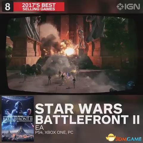 第八名 星球大战前线2 PS4 XB1 PC