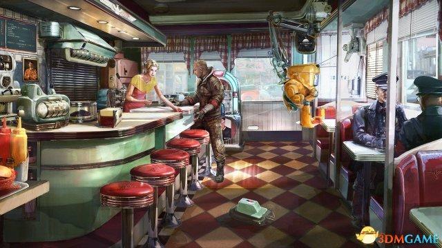 外媒评选PC游戏最佳概念原画 每张都是精美壁纸