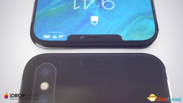 iPhoneX Plus高清概念图:双SIM卡 全面屏更彻底