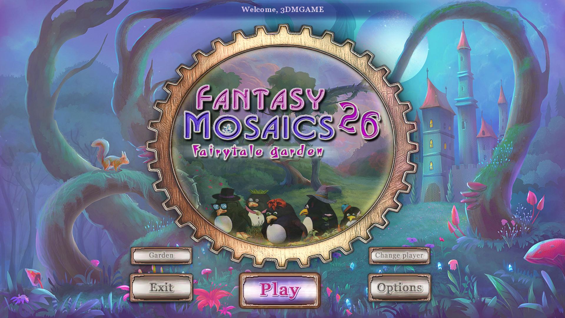 幻想马赛克26:童话花园 游戏截图