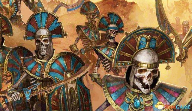 固态颗粒物亡灵 《周详战斗:战锤2》新DLC古墓王