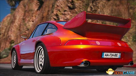侠盗猎车5 保时捷911 GT2涡轮增压跑车MOD