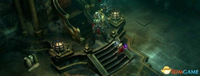 开始剧透了?暗黑3骷髅王成守望新地图推车主角