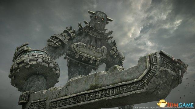 《旺达与巨像》PS2/巴黎人官网官方网站PS4 Pro画面