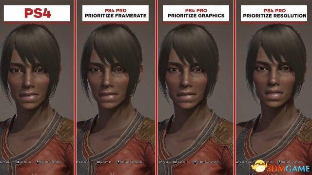 《怪物猎人:世界》PS4和PS4 Pro版画面对比