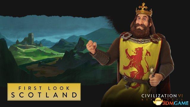 《文明VI 迭起兴衰》——罗伯特一世领导苏格兰前行