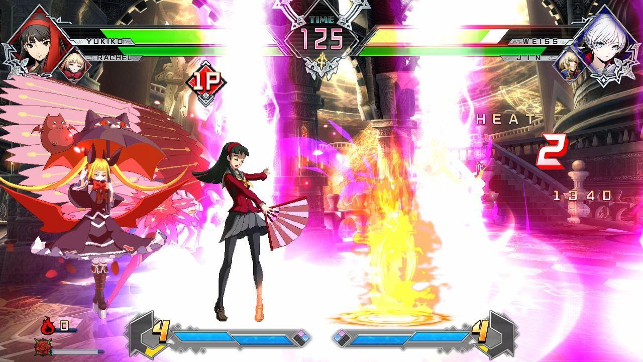 《苍翼默示录:交叉组队战》免费DLC 两美女登场