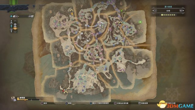怪物猎人世界全营地位置一览 怪物猎人营地素材解锁