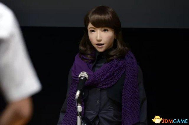 日本美女新闻主播机器人4月上岗 背稿肯定很熟练