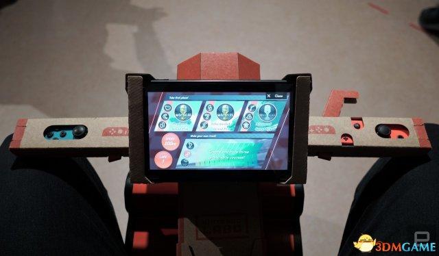 <b>瘾科技试玩任天堂Labo 确认三种难度可自建赛道</b>