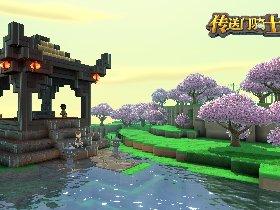 外国人眼中的春节:《传送门骑士》全新地图