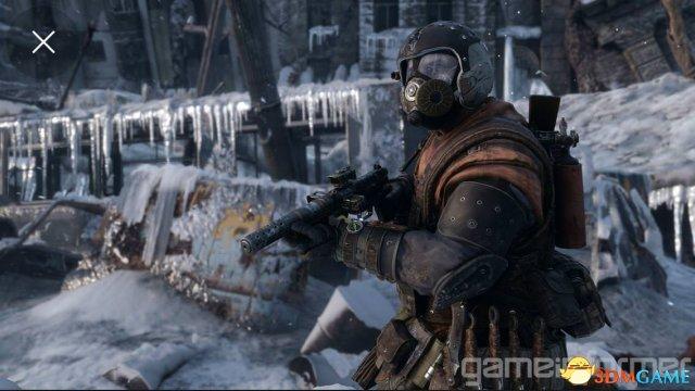<b>《地铁:逃离》放出新截图 冰天雪地下的探险</b>