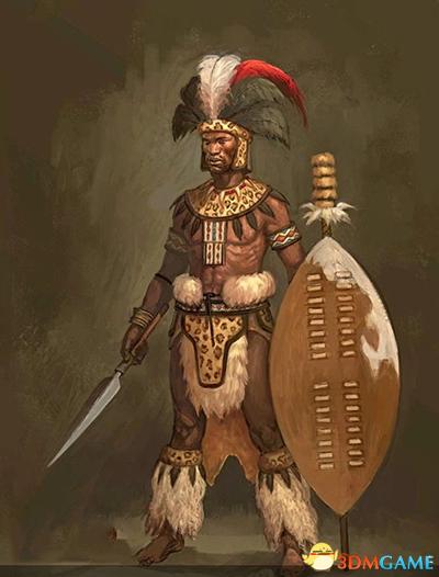 文明6祖鲁领袖恰卡:私生子的隐忍、<a class='simzt' href='http://www.3dmgame.com/games/retaliation/' target='_blank'>逆袭</a>与报复