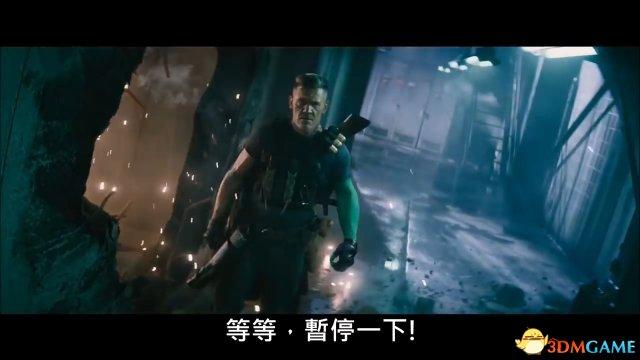 《死侍2》新中文版预告 电索霸气登场大秀身手