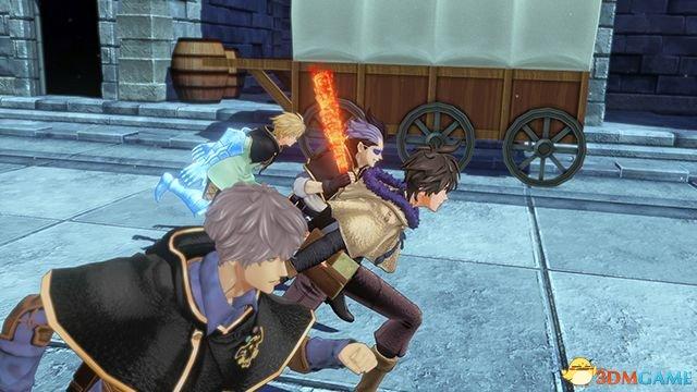 万代新作PS4《黑色五叶草:骑士四重奏》系统角色