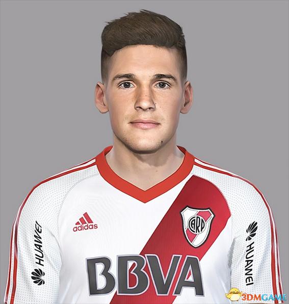 实况足球2018 河床后卫卢卡斯·马丁内斯面部补丁 V2