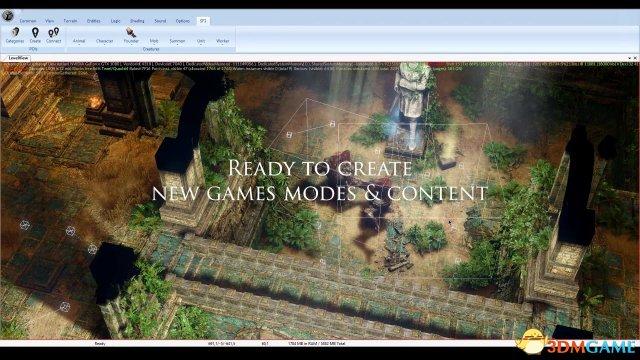 游戏生命延长必备 《咒语力量3》官方发布MOD工具