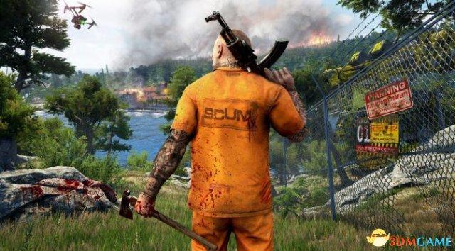 开放世界多人杏彩《<a class='simzt' href='http://www.uchi-machi.com/games/scum/' target='_blank'>人渣</a>》视频演示翻墙攀爬机制