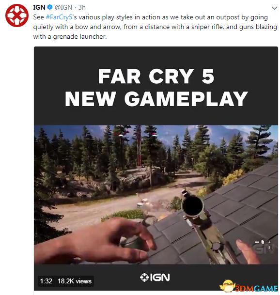 《孤岛惊魂5》 IGN独家演示