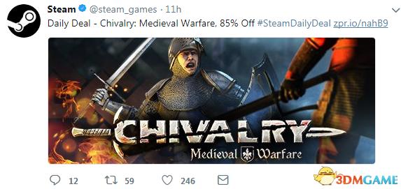 仅11元《骑士:中世纪战争》Steam 1.4折 特别好评