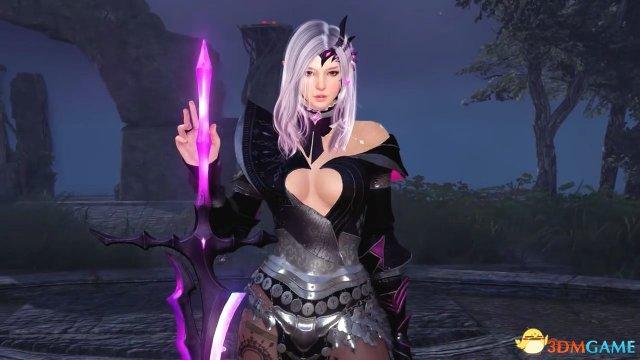 《黑色沙漠》 黑暗骑士觉醒 爆乳妹召唤太刀幻影剑