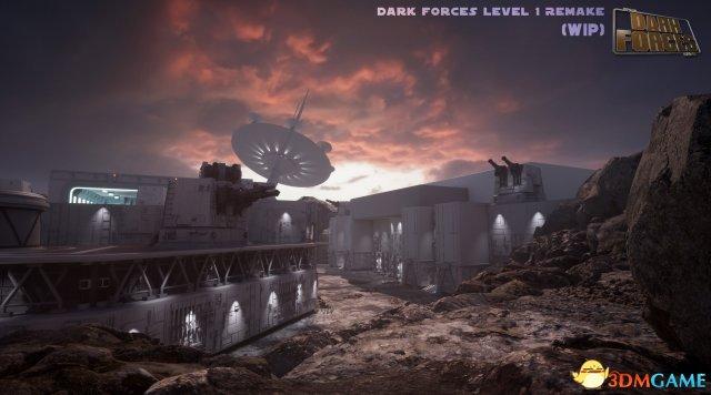 画面惊艳 虚幻4重制《星球大战:黑暗力量》新图