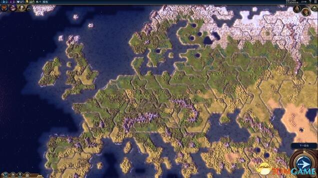 文明6:迭起兴衰 可使用自定义地图mod