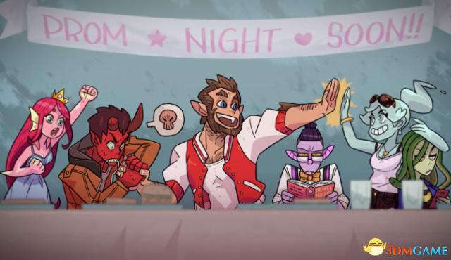 steam游戏推荐:《Monster Prom》魔物学院的爱情故事