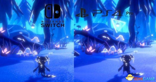 《Fe》Switch版对比PS4版画面 特效美妙优化平庸