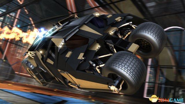 《火箭联盟》DC超级英雄宇宙DLC 蝙蝠车纵横战场
