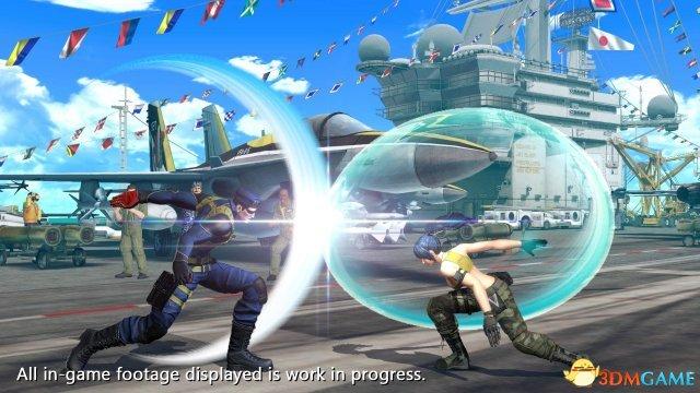 《拳皇14》DLC全新角色曝光 魔鬼大兵加入格斗