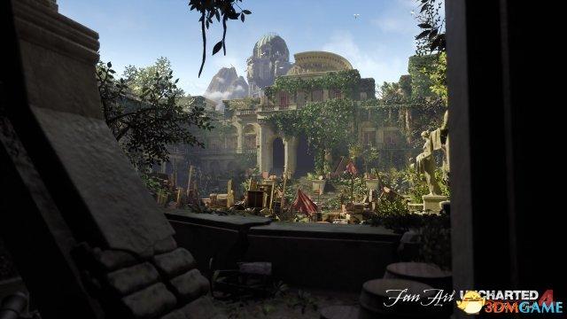 游戏新消息:虚幻4引擎重制神秘海域4场景效果不输原版