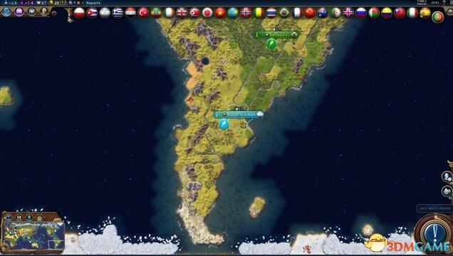 文明6:迭起兴衰 真实世界地图MOD