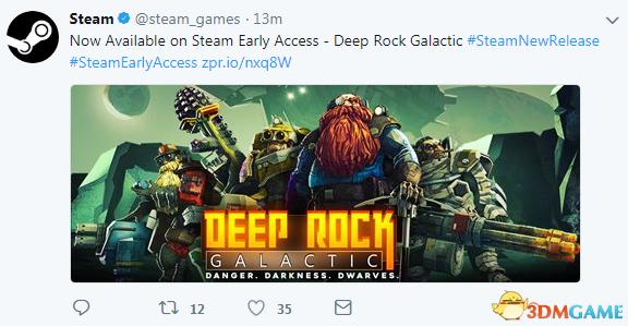 《深岩银河》登陆Steam抢先体验 支持简体中文!