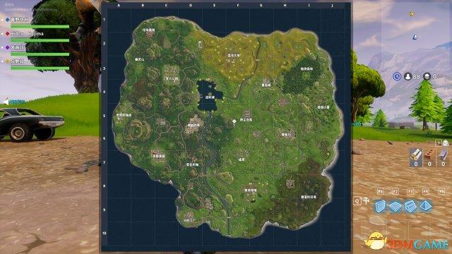 堡垒之夜PVP地图资源哪里多_PVP地图资源分布一览