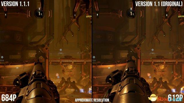 <b>Switch《毁灭战士4》更新后画面表现获得小幅升级</b>