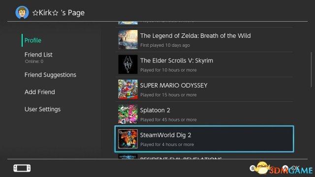Switch系统也出BUG了 玩家一整年的游戏时间清零
