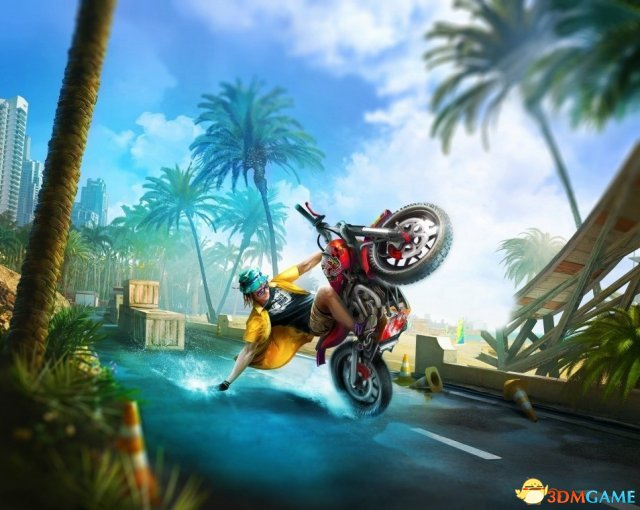 特技摩托系列新作 《城市游乐场》将登陆Switch