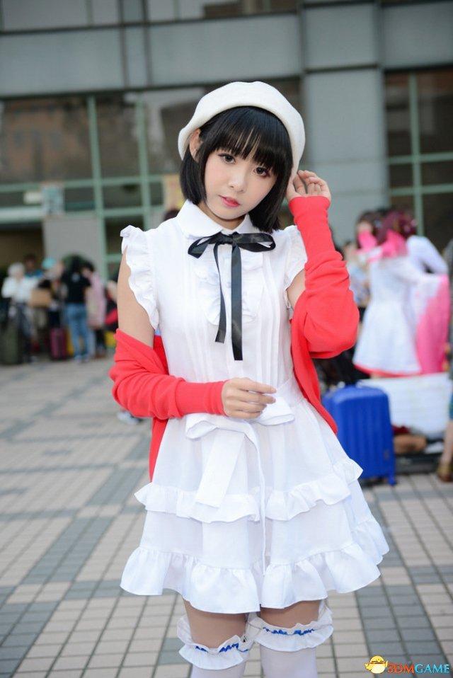 台湾同人展现场Cos美图赏 黑丝网袜兔耳娘秀身材