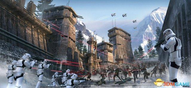 《孤岛危机3》原画师作品欣赏 太空激战科幻味浓
